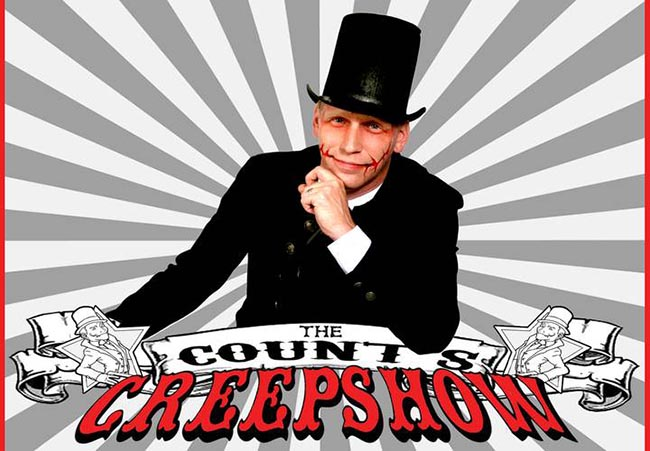 The Count's Creepshow presented by Windsor Magician Paul Reaume