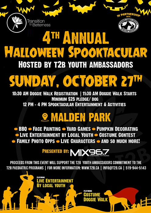 T2B Halloween Family Spooktacular Poster