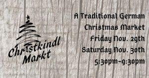 Heimat Windsor Christkindl Markt (German Christmas Market) Poster