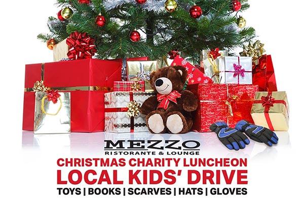 Mezzo Restaurant Annual Charity Christmas Luncheon