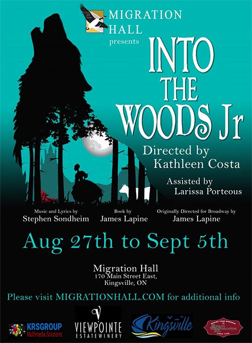 Into The Woods Poster For St. Clair College