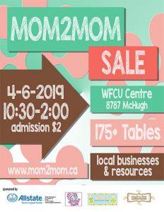 Mom2Mom Spring Sale
