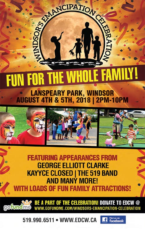 Emancipation Day Celebration Windsor Poster