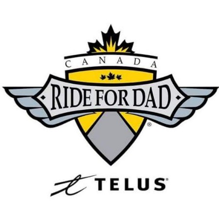 Telus Ride For Dad Canada Logo | Windsor
