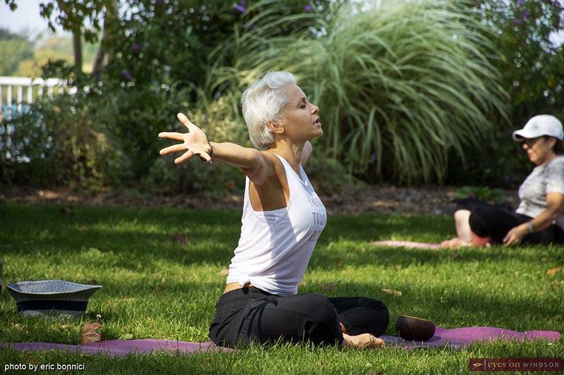 Adriana Rajewski Yoga 4 Hope