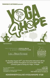 Yoga 4 Hope In The Parks Poster