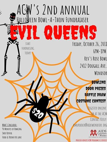 Thriller! Halloween Bowl-a-Thon Poster