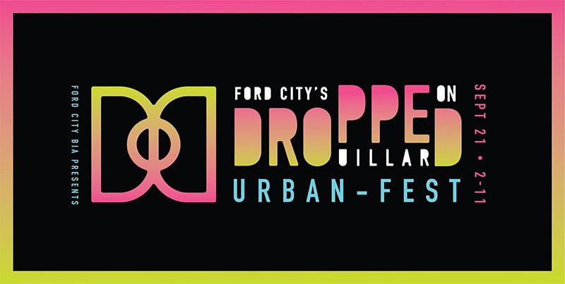 Dropped On Drouillard Festival Poster