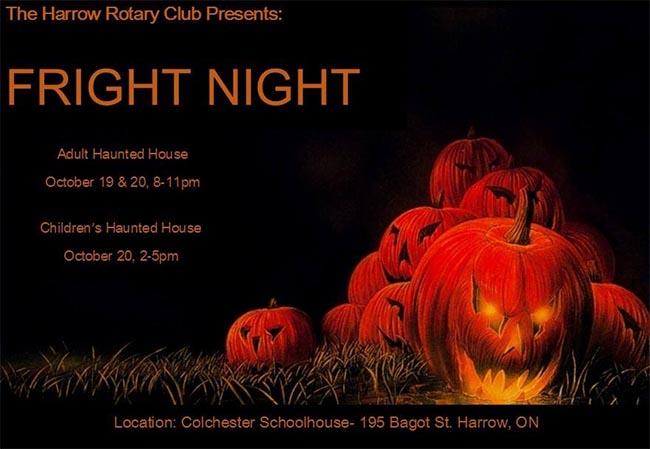 Harrow Rotary Fright Night Haunted House