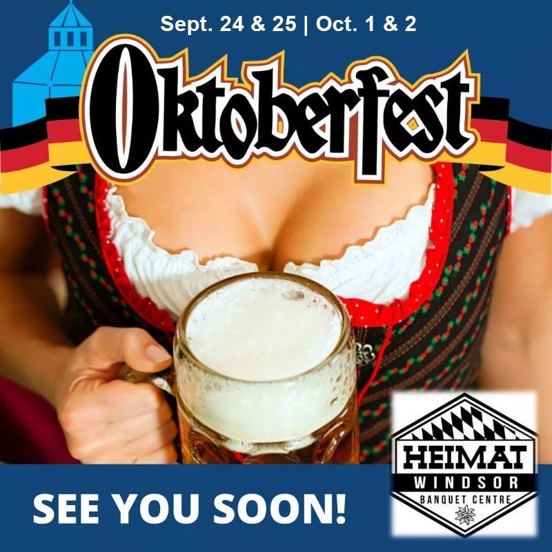 Oktoberfest at Heimat Windsor Poster