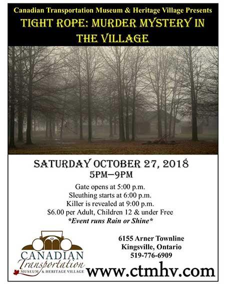 Village Murder Mystery Poster