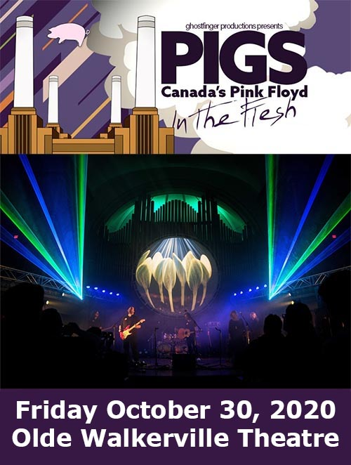 PIGS Canada's Pink Floyd Tribute In The Flesh Tour Windsor Poster