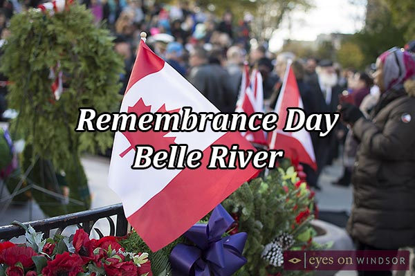 Remembrance Day Ceremony in Belle River