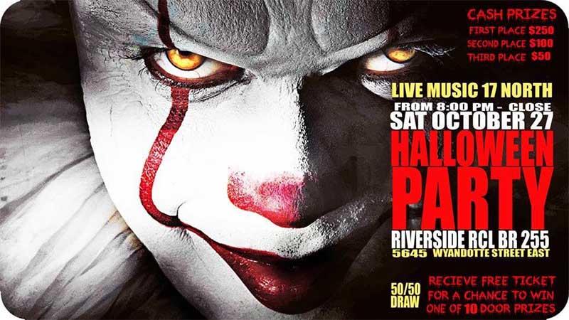 Riverside Legion 255 Halloween Party Poster