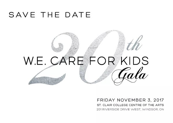 WE Care For Kids Gala