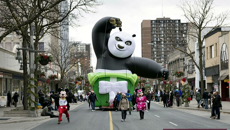 In Photos: Windsor Winter Fest Parade Fills Downtown With Cheer