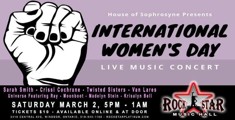 House of Sophrosyne International Women's Day Concert