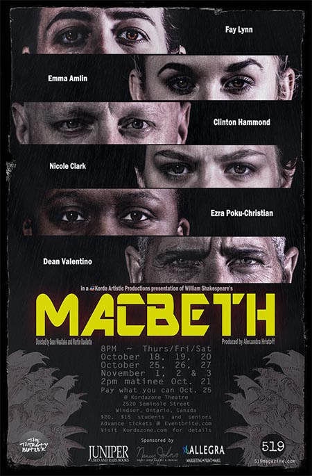 William Shakespeare's Macbeth Presented by Korda Artistic Productions Poster