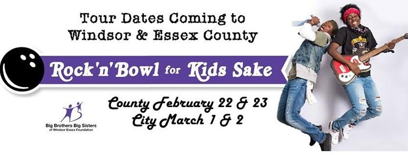 Rock N Bowl For Kids Sake Poster (Big Brothers Big Sisters of Windsor Essex)