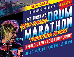 Jeff Burrows 24 Hour Half Drum Marathon
