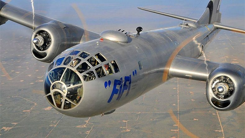 Windsor To Host Historic WWII B-29 Superfortress Bomber FIFI Aircraft Tours
