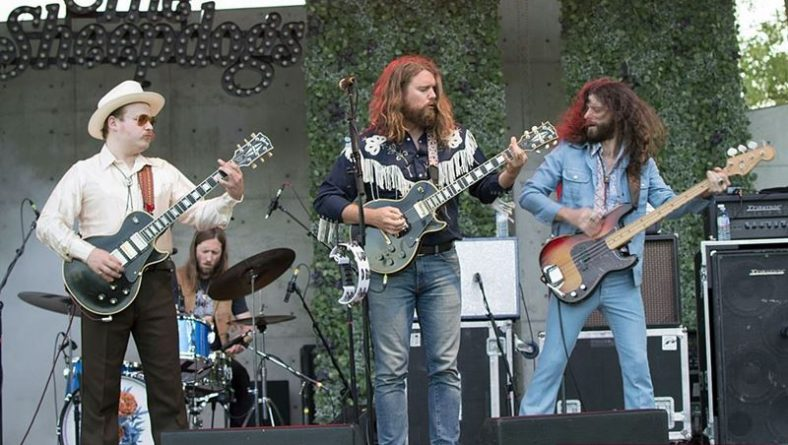 The Sheepdogs & Dave Russell Rock Leamington Amphitheatre Music On The 42 Kick Off