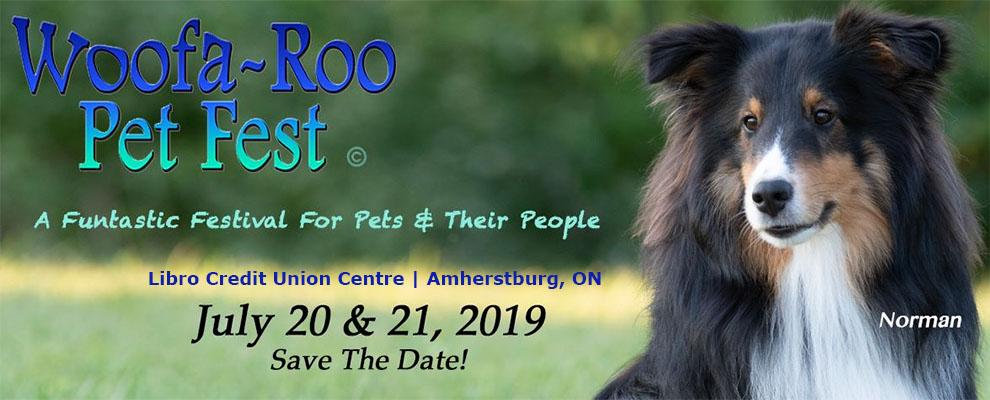 Woofa-Roo Pet Festival Banner