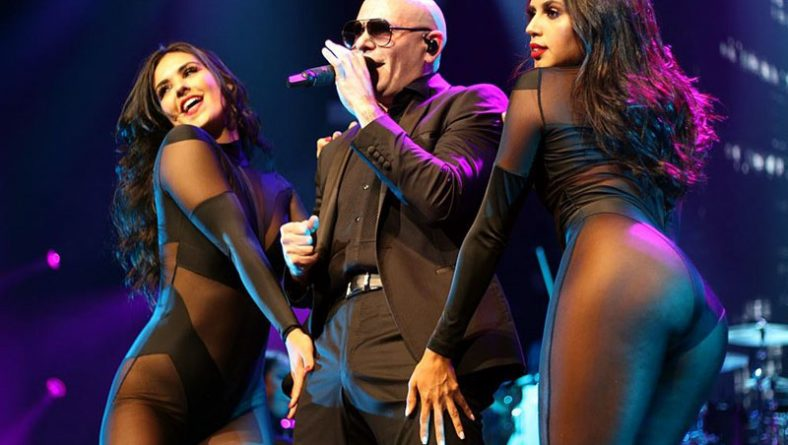 Pitbull Had It Going Down On The Colosseum Stage at Caesars Windsor