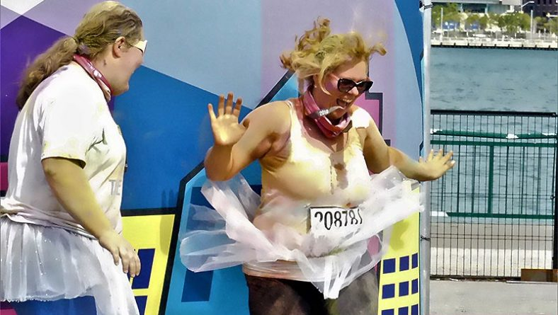 Windsor Color Run Hero Tour Brightens Downtown Windsor And Alzheimer Society