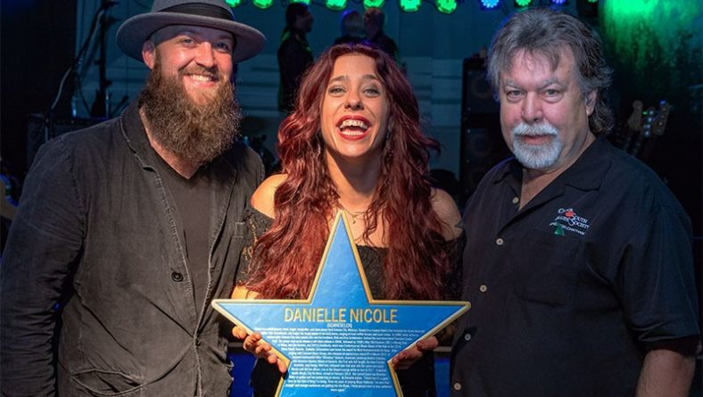 Danielle Nicole Inducted Into Canada South Blues Society Hall of Fame