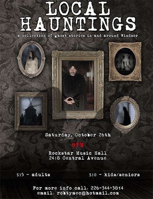 Local Hauntings Poster