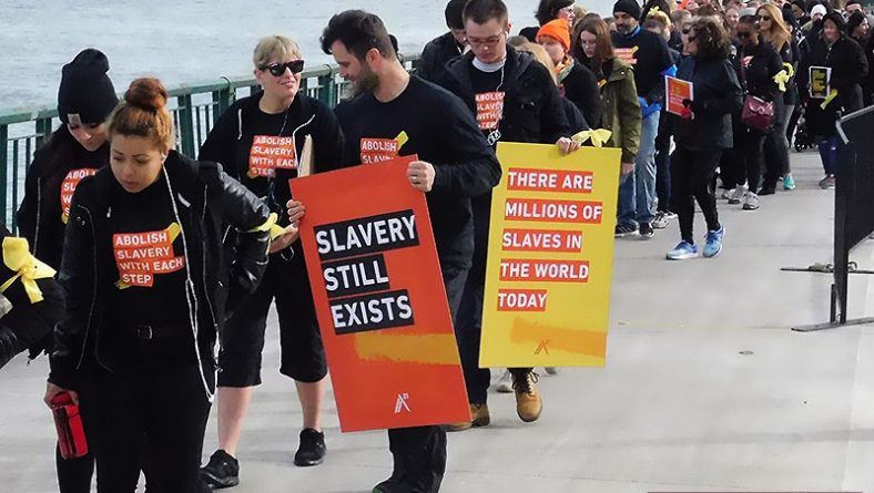 First Walk For Freedom in Windsor Raises Human Trafficking Awareness