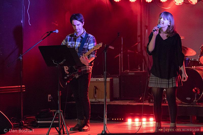 Dane Roberts and Madeline Doornaert