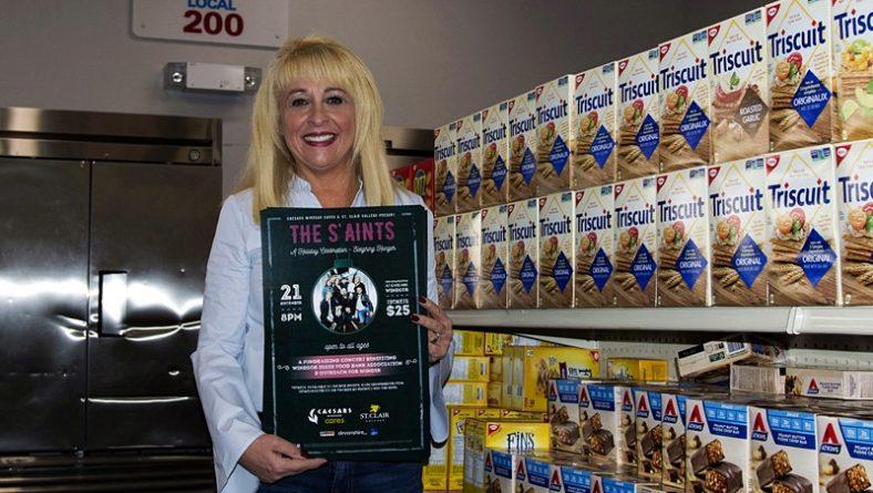 June Muir Talks Sleighing Hunger Concert & Increased Food Bank Needs