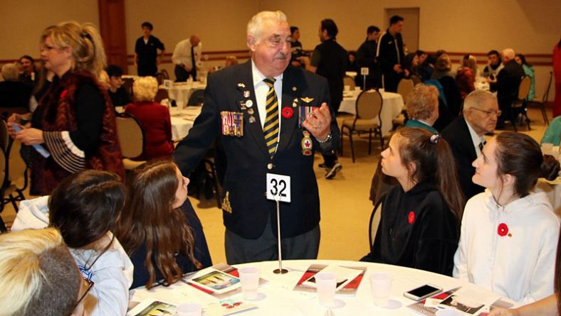 Windsor Veterans Appreciation Luncheon A Living History Classroom For Students