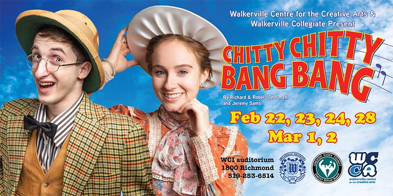 Chitty Chitty Bang Bang Walkerville Poster