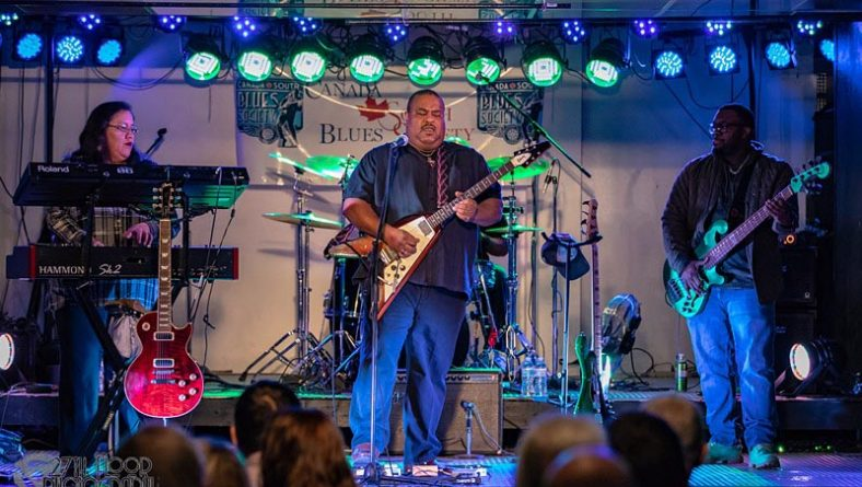 Blues Guitarist Larry McCray Brings Stellar Performance To Canada South Blues Society