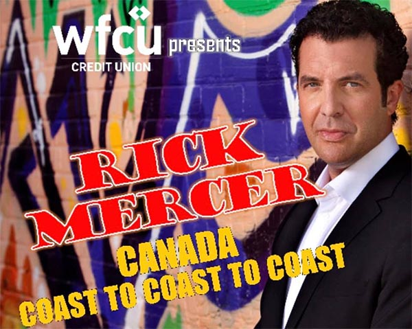 Rick Mercer to perform in Windsor at The Chrysler Theatre