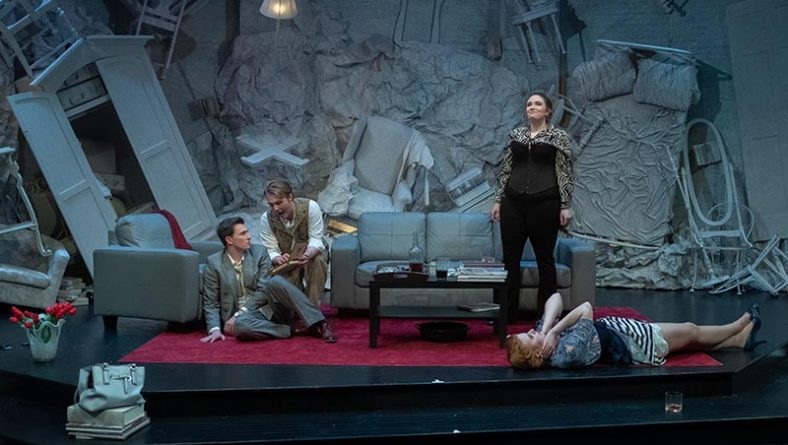 University Players Delights Audiences With Dark Comedy God of Carnage