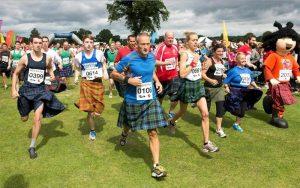 Kingsville Kilt Run, Runners