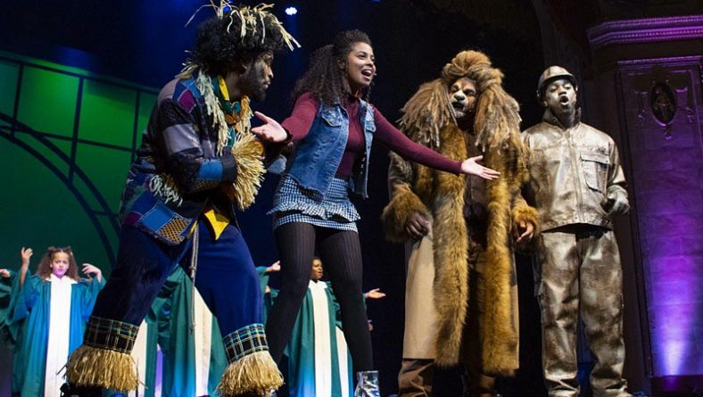 Over The Most Brilliant Rainbow ACT Windsor's The Wiz is Dazzling