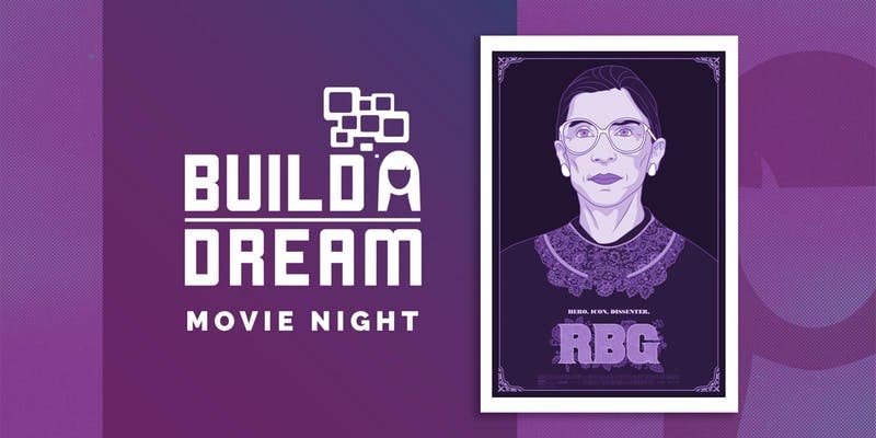 Build A Dream Movie Night Poster