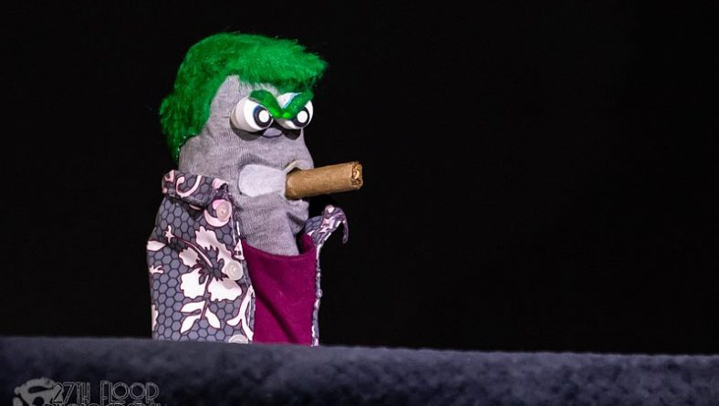 Ed The Sock Hilariously Socks It To Windsor Up Front and Personal