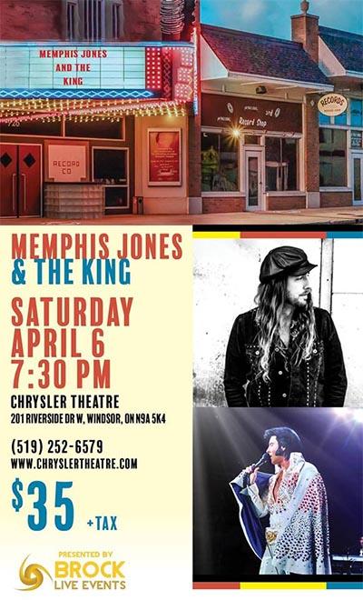 Memphis Jones & The King Poster (Chrysler Theatre)