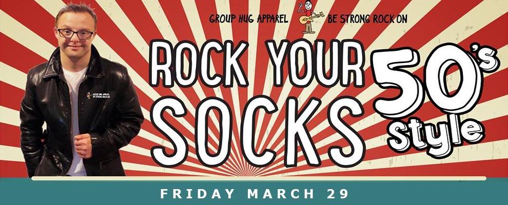 Rock Your Socks Group Hug Apparel Adslider