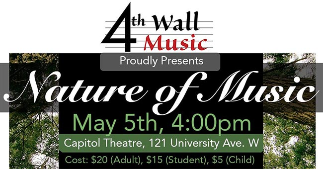 4th Wall Music The Nature of Music Poster