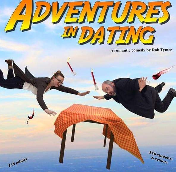 Adventures in Dating by Rob Tymec, Poster