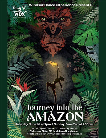 Journey Into The Amazon Windsor Dance Experience Poster