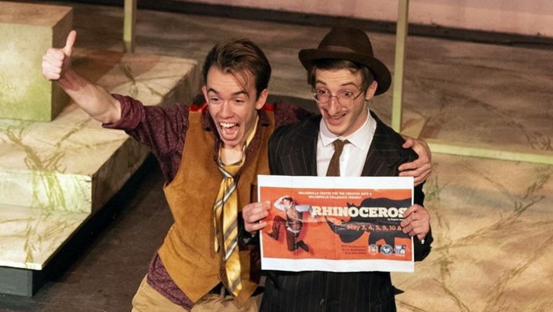 Walkerville's Rhinoceros Brilliantly Executes Love in a Pachyderm Apocalypse