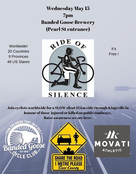 Ride of Silence Kingsville Poster
